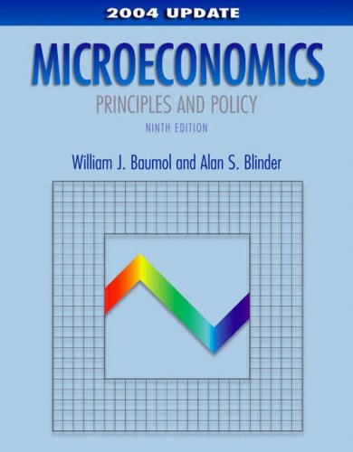 9780324201642: Microeconomics: Principles and Policy, 2004 Update