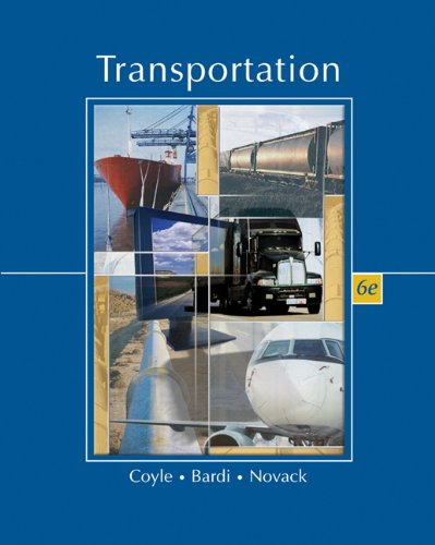 9780324202144: Transportation (with InfoTrac) (Available Titles CengageNOW)