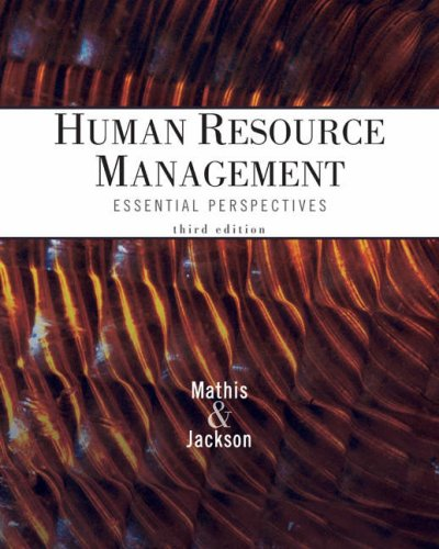 9780324202175: Cengage Advantage Books: Human Resource Management: Essential Perspectives (Foundations Series in Management)