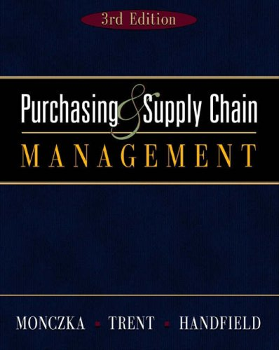 9780324202540: Purchasing and Supply Chain (with InfoTrac)