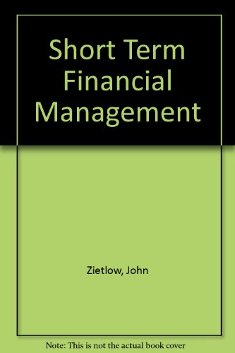 9780324202946: Short Term Financial Management