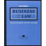 9780324203103: Business and the Law Telecourse Study Guide