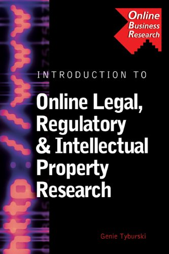 Introduction to Online Legal, Regulatory & Intellectual: Genie Tyburski