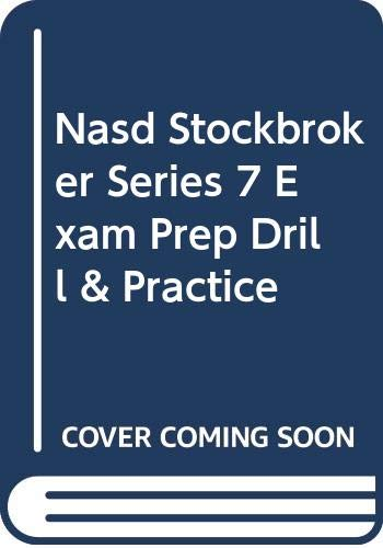 NASD Stockbroker: Cengage Learning South-Western