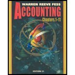 9780324203660: Accounting 21e (Chapters 1-11)