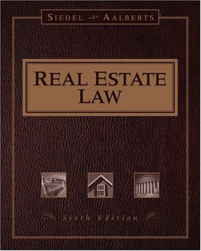 9780324204803: Real Estate Law (Real Estate Law (Seidel, George))