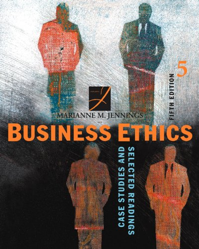 9780324204896: Business Ethics: Case Studies and Selected Readings