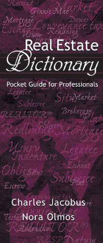 9780324205183: Real Estate Dictionary: Pocket Guide for Professionals