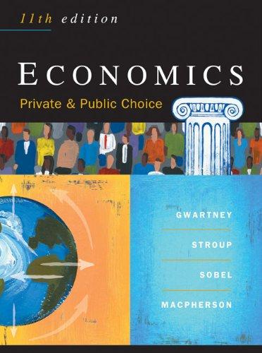 9780324205640: Economics: Private & Public Choice, 11th Edition