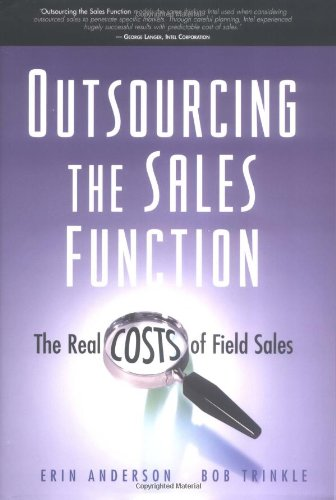 9780324207484: Outsourcing the Sales Function: The Real Costs of Field Sales