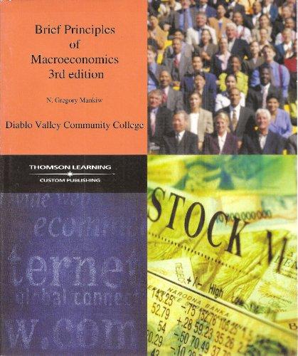 Brief Principles of Macroeconomics 3rd Edition, Diablo: N. Gregory Mankiw