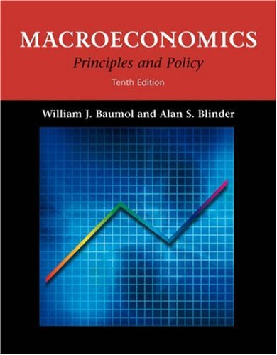 9780324221145: Macroeconomics: Principles and Policy (with InfoTrac®)