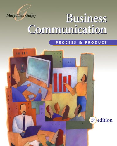9780324223040: Business Communication: Process and Product (with InfoTrac) (Available Titles CengageNOW)