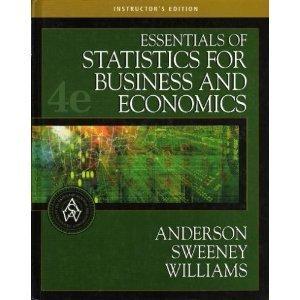 9780324223224: Essentials of Statistics for Business and Economics