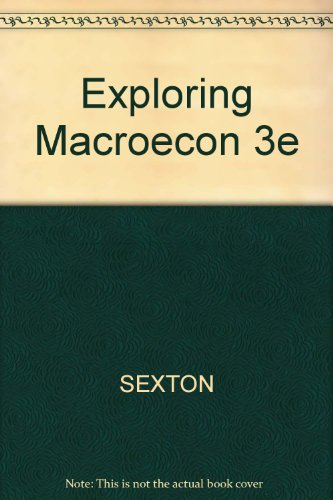 9780324223941: Exploring Macroecon 3e