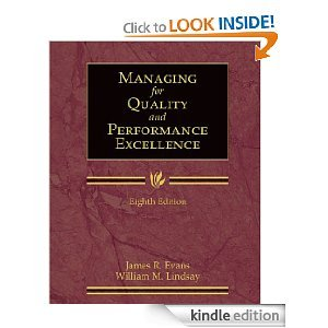 9780324225037: The Management and Control of Quality (ISE)