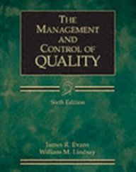 9780324225037: Management and Control of Quality