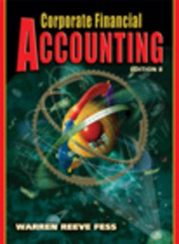 9780324225501: Corporate Financial Accounting