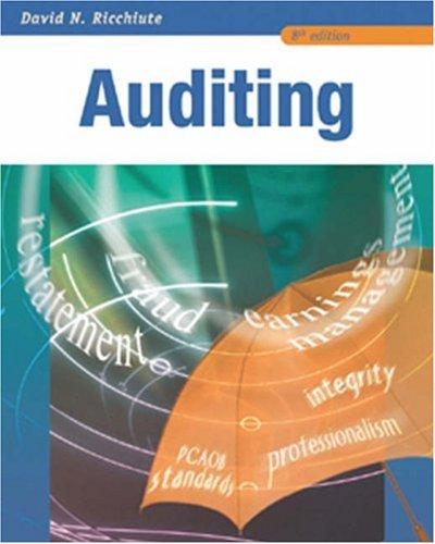 9780324226294: Auditing
