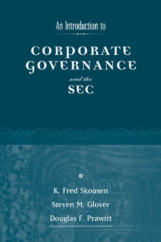 9780324226980: An Introduction to Corporate Governance and the Sec