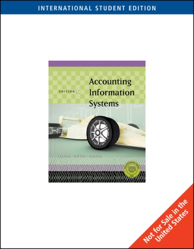9780324227185: Accounting Information Systems