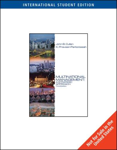 9780324227208: Multinational Management