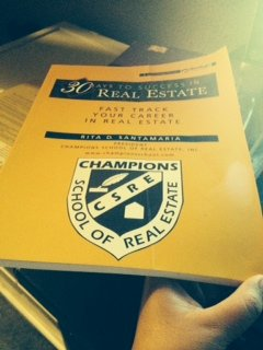 9780324227512: Champions School of Real Estate 30 Days to Success