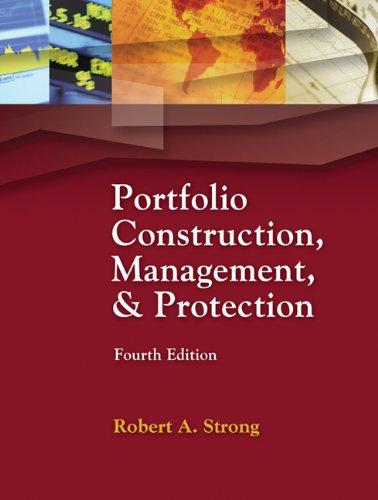 9780324232585: Portfolio Constr, Mgt and Protec