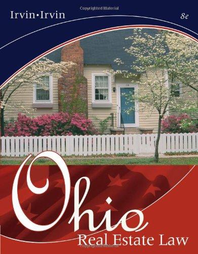 9780324233001: Ohio Real Estate Law