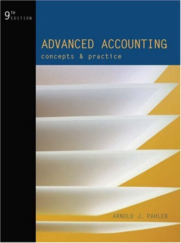 9780324233537: Advanced Accounting: Concepts and Practice (Dryden Press Series in Accounting)
