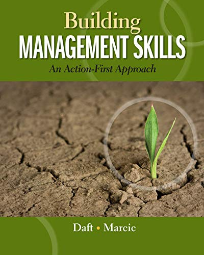 9780324235999: Building Management Skills: An Action-First Approach