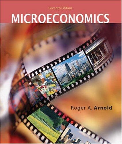 9780324236705: Microeconomics (with InfoTrac)