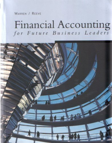 9780324246650: Financial Accounting for Future Business Leaders