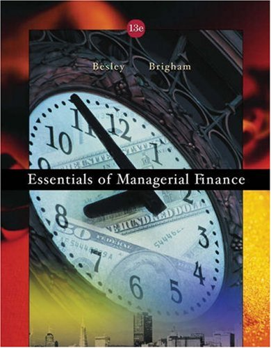 9780324258752: Essentials of Managerial Finance with Thomson ONE