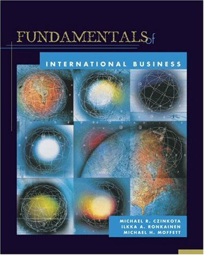 Fundamentals of International Business (with World Map: Czinkota, Michael R.,