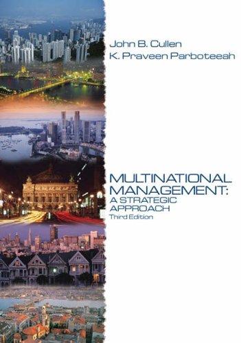 9780324259902: Multinational Management: A Strategic Approach