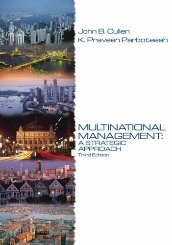 9780324259902: Multinational Management: A Strategic Approach