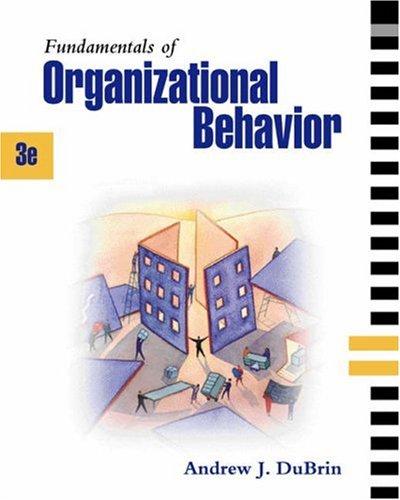 9780324259926: Fundamentals of Organizational Behavior