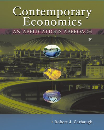 9780324260120: Contemporary Economics: An Applications Approach