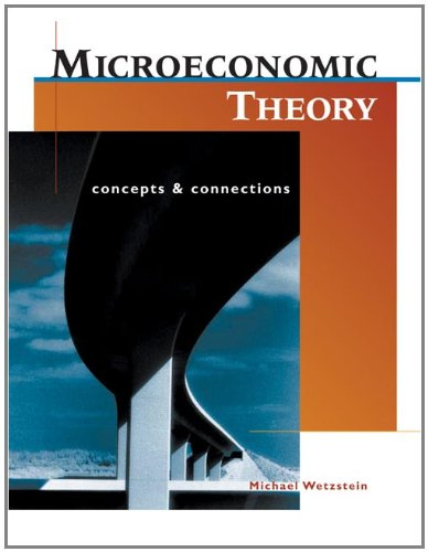 9780324260298: Microeconomic Theory: Concepts and Connections (with Economic Applications)