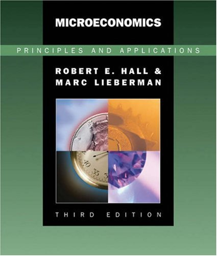 9780324260441: Microeconomics: Principles and Applications (with InfoTrac)
