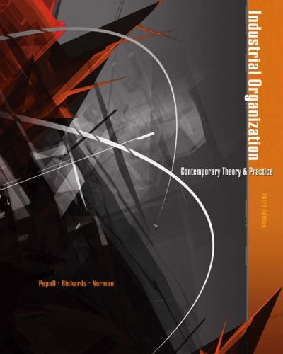 9780324261301: Industrial Organization: Contemporary Theory and Practice (with Economic Applications)