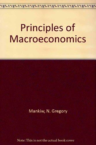 9780324263213: Principles of Macroeconomics