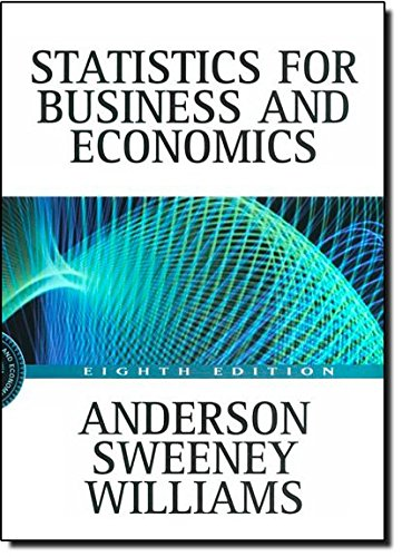 Statistics for Business and Economics with EasyStat: David R. Anderson,