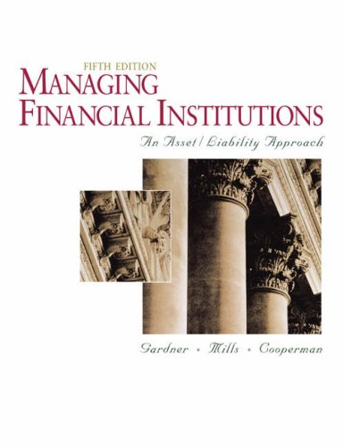9780324269314: Managing Financial Institutions