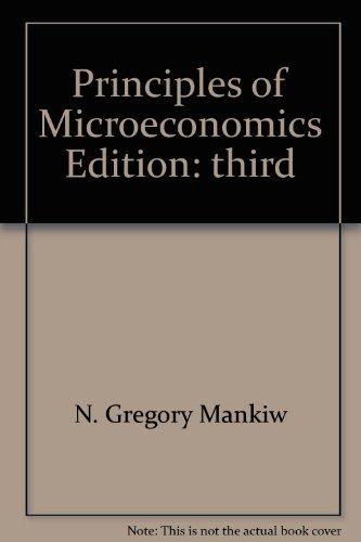 9780324269390: Principles of Microeconomics