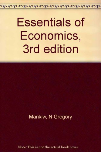 9780324269420: Essentials of Economics, 3rd edition