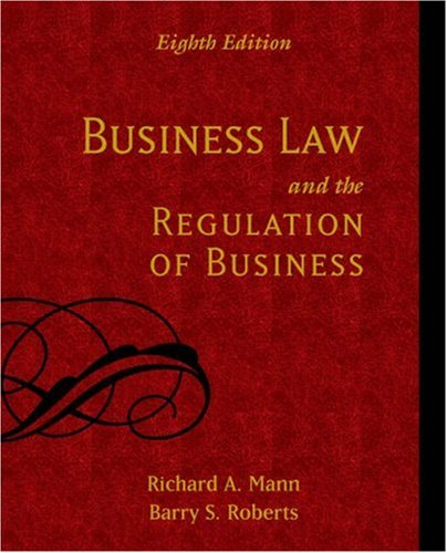 9780324270747: Business Law and the Regulation of Business
