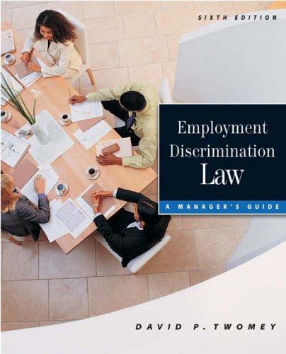 9780324271300: Employment Discrimination Law