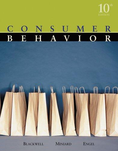 9780324271973: Consumer Behavior